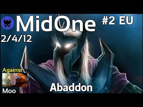 Support MidOne [Secret] plays Abaddon!!! Ward spots shown! Dota 2 7.21