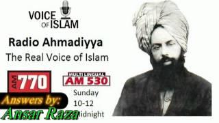 Ansar Raza - Nizaam e Khilafat (System of Khilafat) and its importance.