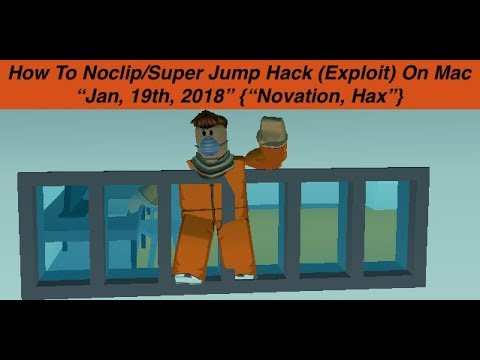 2018 😱 NEW!! How To No-clip And Super Jump On Roblox's