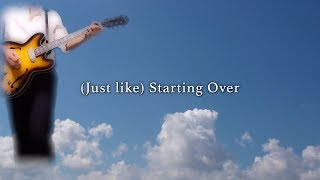 (Just like) Starting Over - John Lennon karaoke cover