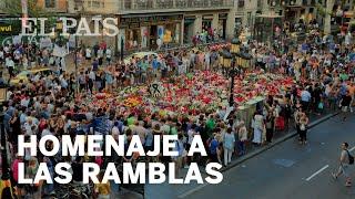 Vídeo homenaje a trabajadores Ramblas de Barcelona por los atentados del 17A