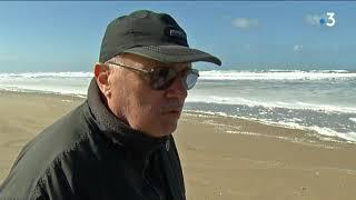 Naufrage du Grande America : fausse alerte à la marée noire sur la plage d'Hourtin, en Gironde