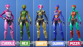 ALL SINGULARITY SECRET SKIN COLOR'S | FORTNITE BATTLE ROYALE
