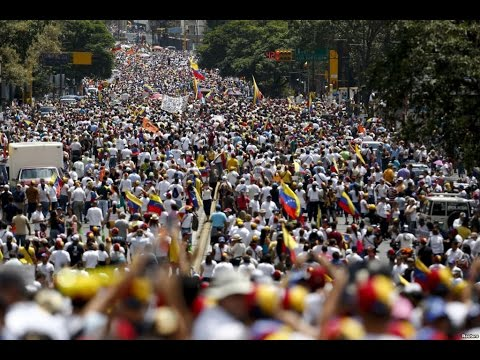 Anti-Socialist Protest in Collapsing Venezuela - One of the largest protests in world history!