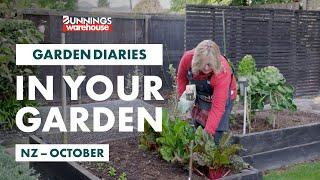 Gardening in October | New Zealand | Bunnings Garden Diary