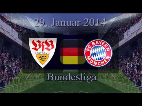 VfB Stuttgart v FC Bayern Munchen, 26 Januar 2014, Bundesliga