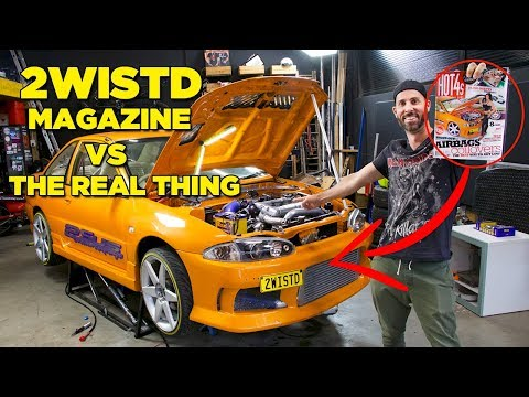 2WISTD – Magazine Cover VS The Real Car