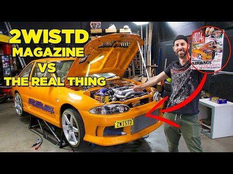 2WISTD - Magazine Cover VS The Real Car