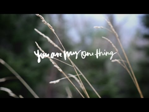 You Are My One Thing (Song Story) - Hannah McClure | We Will Not Be Shaken