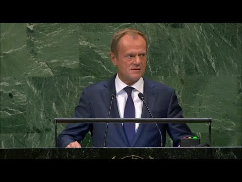 European Union - President of the European Council Addresses General Debate, 73rd Session