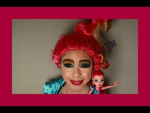 GiGi Grant Monster High Makeup Tutorial 13 Wishes