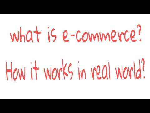 What Is E Commerce How It Works