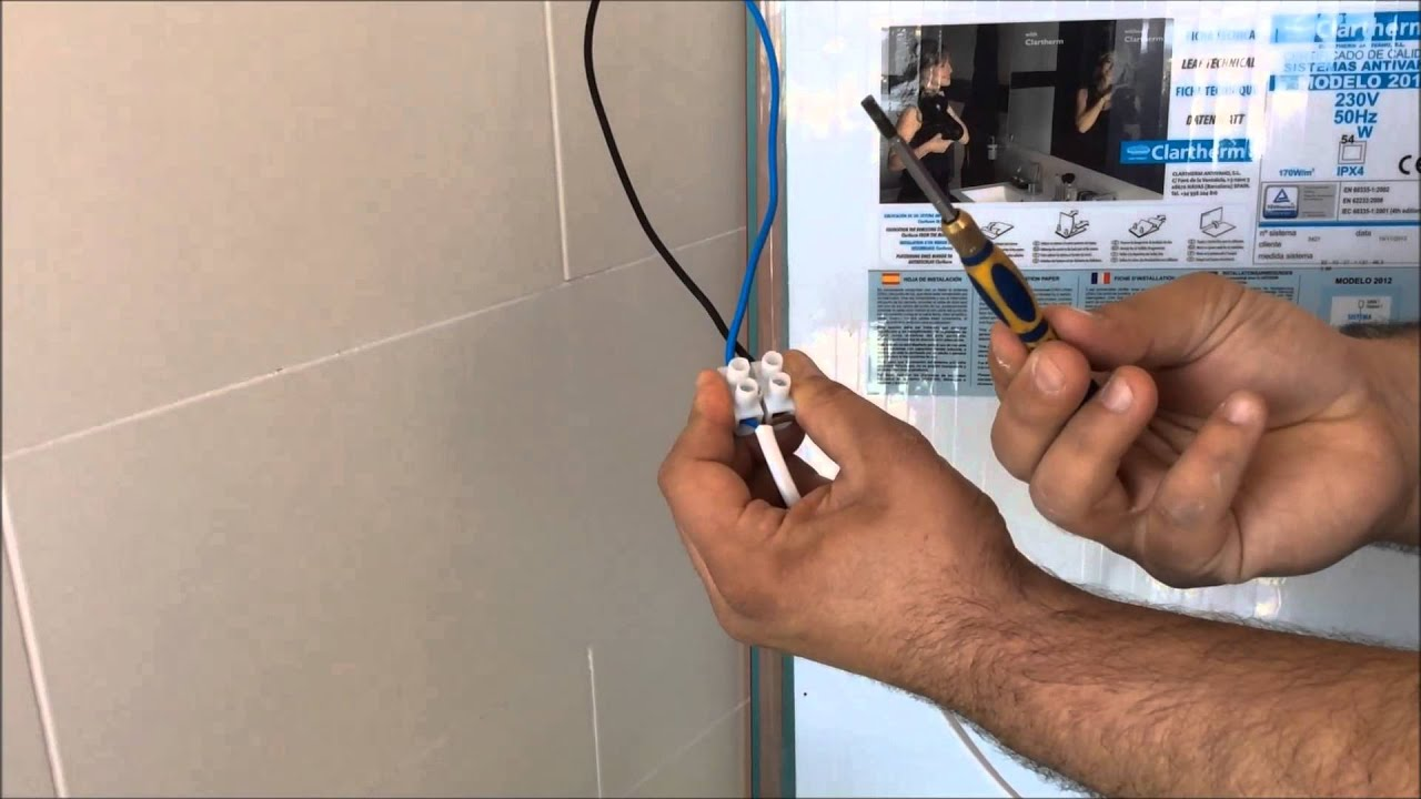 installation demister systems clartherm to the point light youtube rh youtube com Nissan Titan Power Mirror Wiring GM Power Window Wiring Diagram