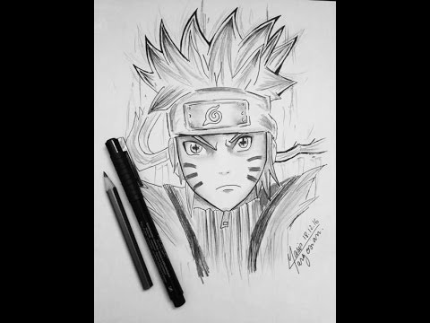 Comment dessiner naruto youtube - Dessin naruto akkipuden ...