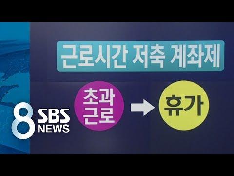 성수기에 일 더하는 '탄력 근로시간제'…과연 해법 될까 / SBS