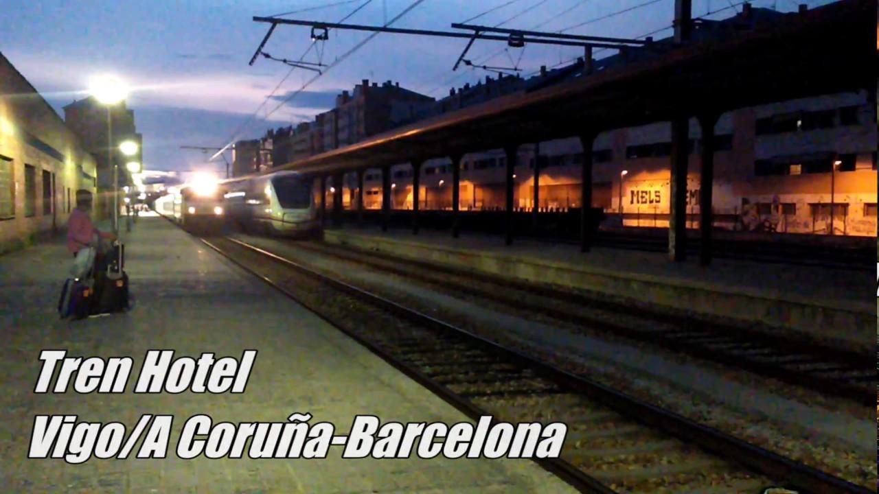 Tren hotel vigo a coru a barcelona por ponferrada le n for Barcelona paris tren hotel