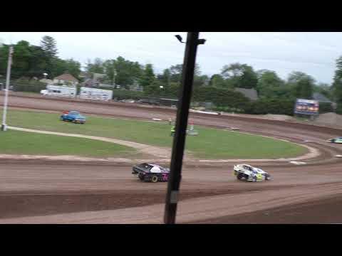 Plymouth Dirt Track B Mod Heats 6-15-2019