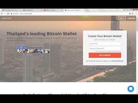 Coins Wallet Thailand  กระเป๋าเงินออนไลย์ รับส่งBTC แปลงบิทคอยเป็นเงินบาท