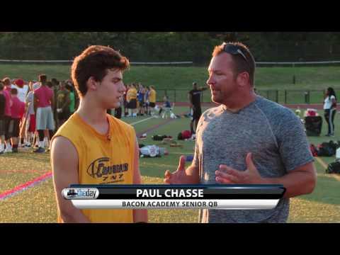 Bacon Academy QB Paul Chasse