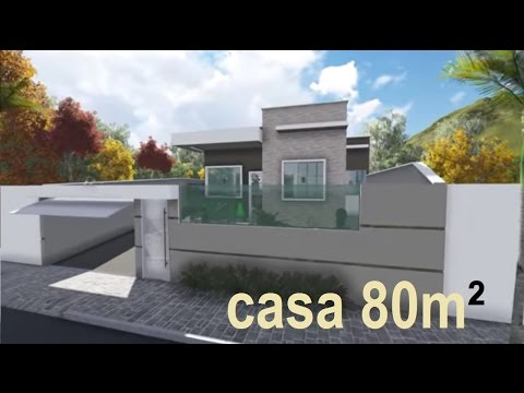 Download video passeio virtual maquete 3d casa for Casa moderna sketchup download