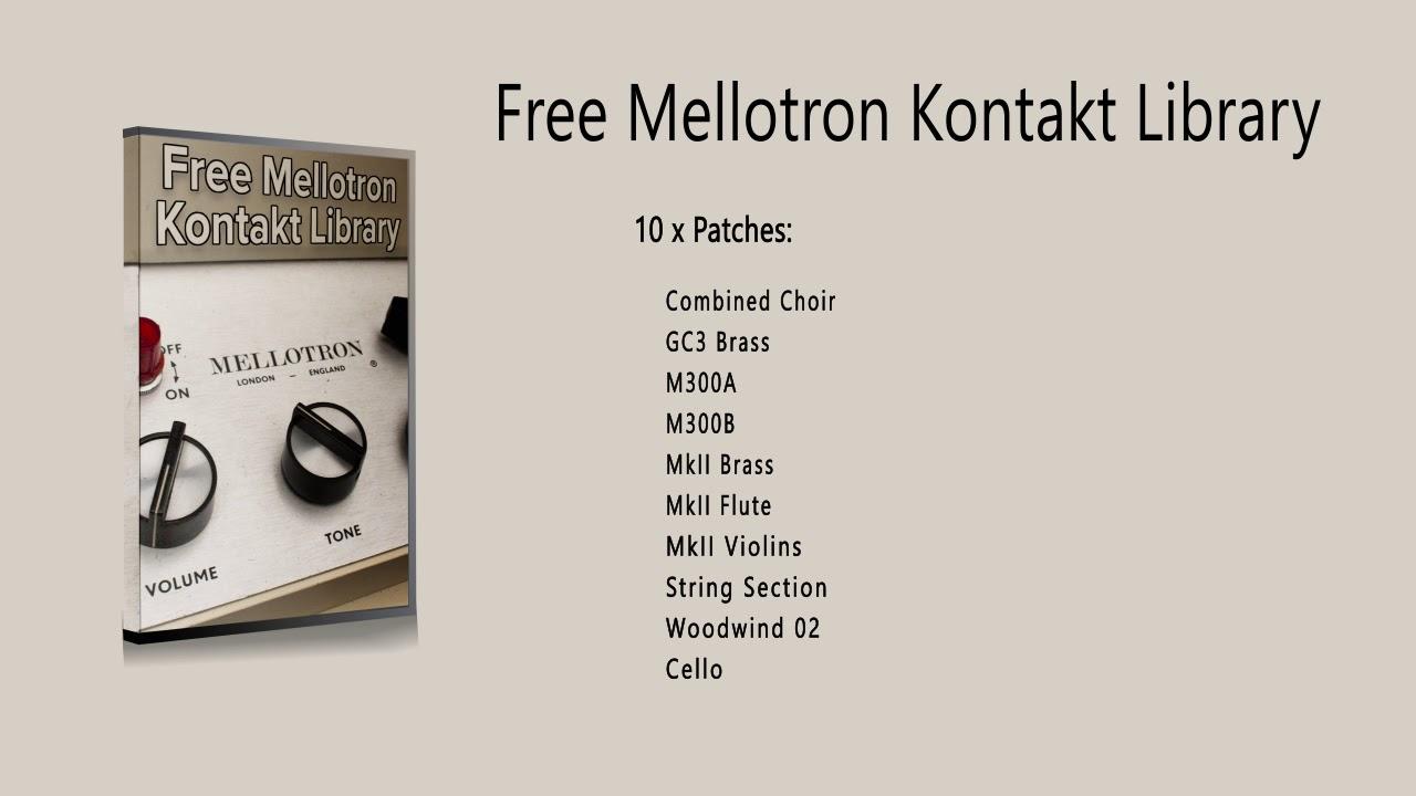 Free Mellotron Library for Kontakt · Sinewave Lab