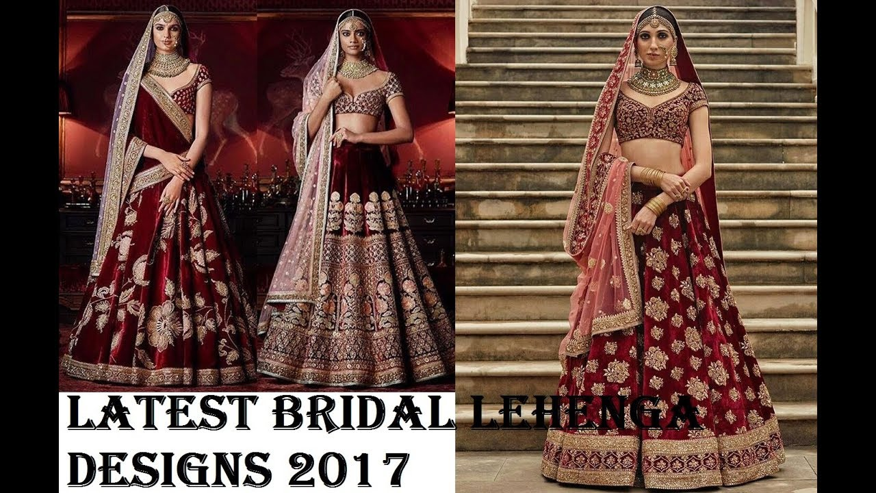 latest bridal collection 2018