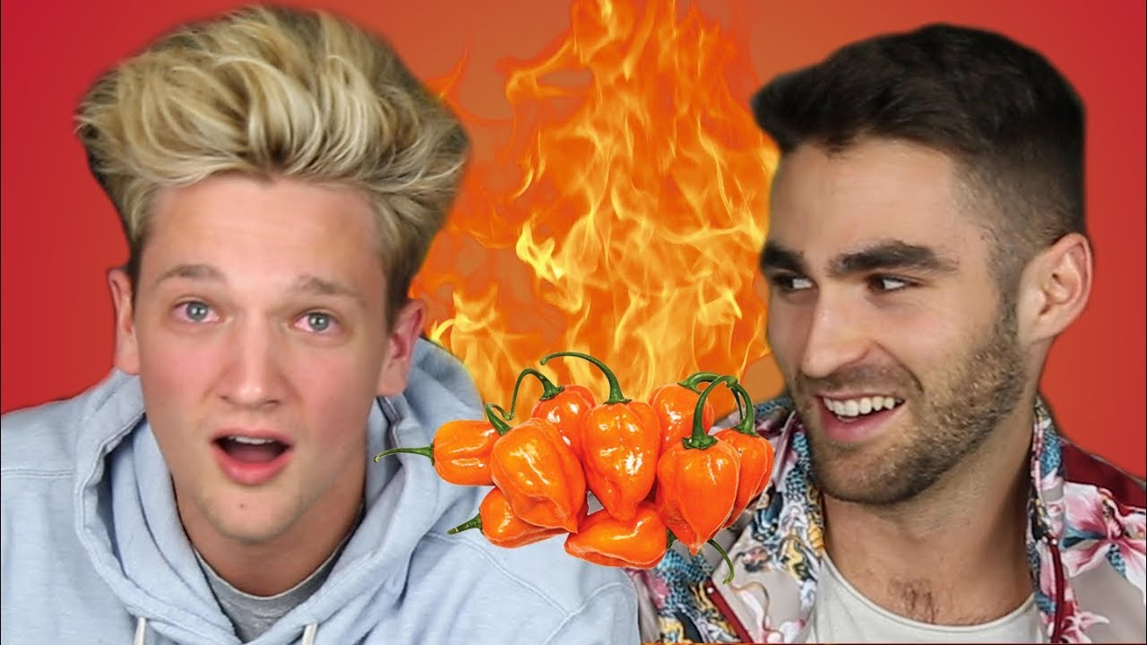 Intense Spicy Habanero Pepper Ask Video Extreme Pain