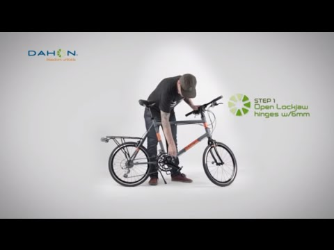How To Fold And Unfold Your DAHON Bike - Dash & Lockjaw Technology