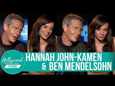 Ben Mendelsohn and Hannah JohnKamen Share Secrets!  READY PLAYER ONE 2018