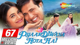 Pyar Diwana Hota Hai 2002 HD - Govinda  Rani Mukherjee  Om Puri - Hit Bollywood Movie