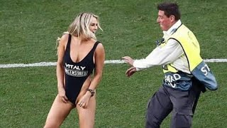 UEFA CHAMPION PITCH INVADER-Kinsey sue inteded to do so for her life history