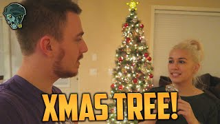 DECORATING OUR CHRISTMAS TREE! (Vlog)