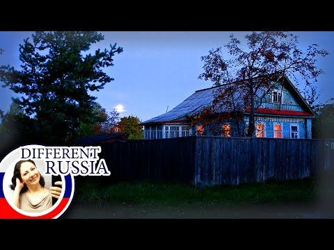 Russia: Night Life In The Village. How We Heat Village Houses