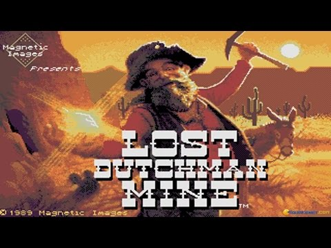 Lost Dutchman Mine gameplay (PC Game, 1989)