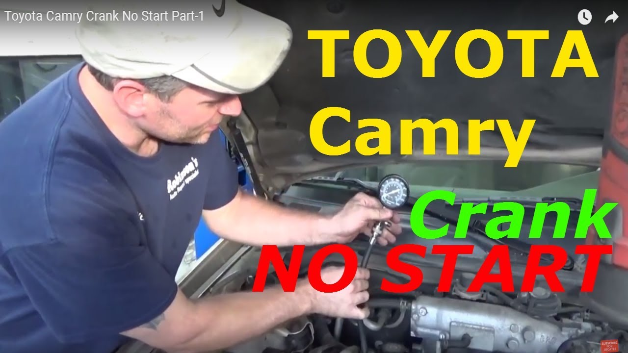 small resolution of toyota camry crank no start part 1