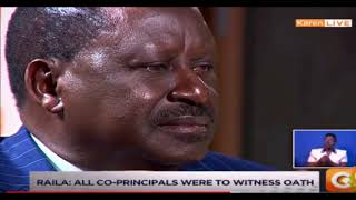 Raila's Cagey Citizen TV Interview: The Revealing Reason
