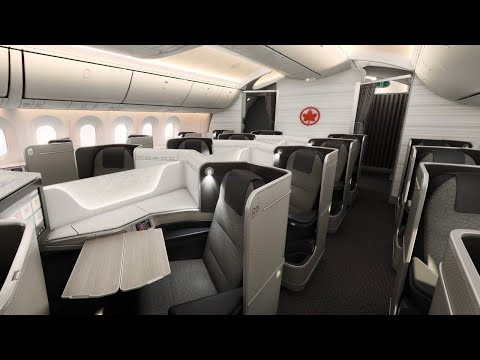 AIR CANADA 787 Signature BusinessClass Review | Vancouver To Seoul | AC63