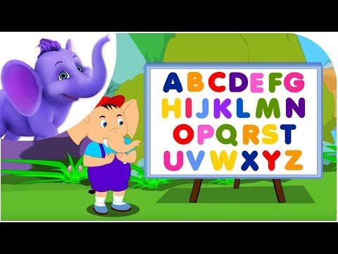 ABC Song - Nursery Rhyme with Karaoke