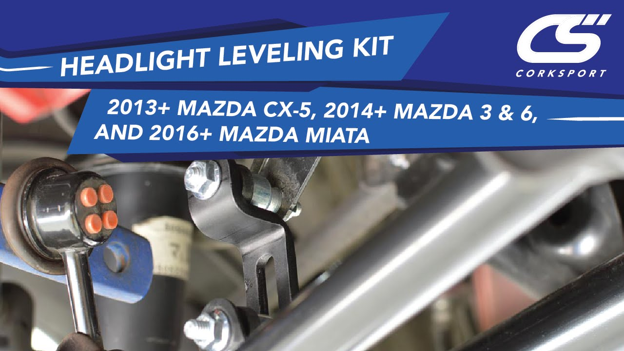 Headlight Self Leveling Link For: 2013+ Mazda CX-5, 2014+ Mazda 3 & 6, and  2016+ Miata
