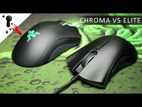 Razer DeathAdder Elite Review (VS Chroma)