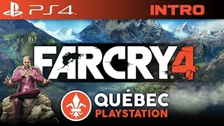 Let's Play Far Cry 4 FR QC : Québec Playstation PS4 : Introduction