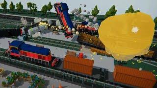 Train Games - Train accident railway crash #2