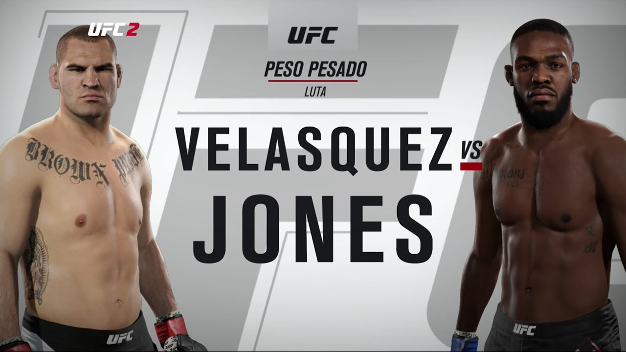 JON JONES VS CAIN VELASQUEZ | EA SPORTS UFC 2 (XONE/PS4 ... Jon Jones Vs Cain Velasquez