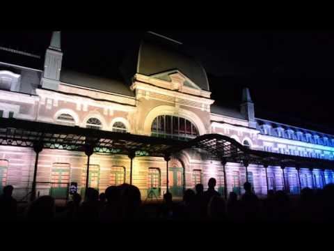 la-estación-internacional-de-canfranc-estrenó-iluminación-exterior
