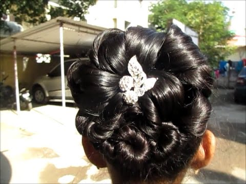 New Year Hairstyles For Long Hair : Latest christmas & new year hairstyle 2017#wedding hairstyle for