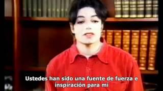 Michael Jackson - Mensaje de Navidad (Subtitulado)