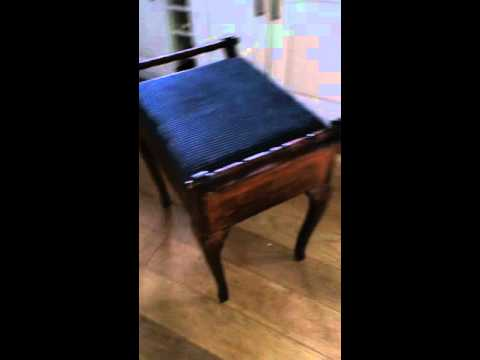 Piano Stool Refurbishment Episode