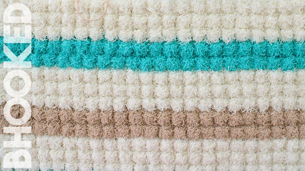 Crochet Stitches In Youtube : Crochet Bobble Stitch - YouTube