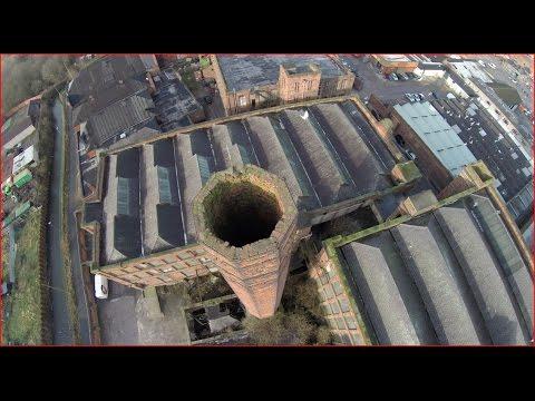 Eckersley's Mill Wigan, DJI Phantom 2 Drone View
