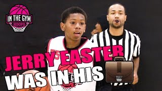 #1 2025 PG Jerry Easter WAS IN HIS BAG at Inthegymhoops Middle School Showcase